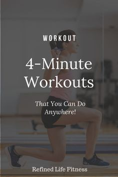 Are you looking for quick workouts that you can do from home? These quick, effective workouts will allow you to get those weight-loss results you are looking for without spending hours at the gym. Check out these 4 minute workouts you can do anywhere! Weight Loss Before, Best Weight Loss, Weight Loss Tips, Losing Weight, Weight Loss Workout Plan, Weight Loss Motivation, Workout Motivation, Macros, 4 Minute Workout