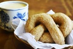 Slow-Rise Sourdough Pretzels with Homemade Cheese Sauce