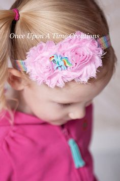 Hey, I found this really awesome Etsy listing at https://www.etsy.com/listing/193880506/rainbow-dash-inspired-shabby-headband