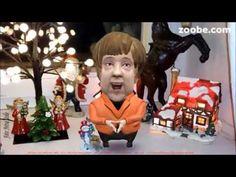 Angela Merkel - Weihnachten fällt aus   Zoobe, Animation