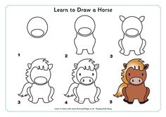 Learning to draw a horse