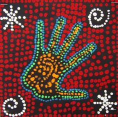 Australian Indigenous Art: Aboriginal Dot Painting | Kids art ...