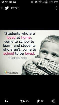 Teaching is love.