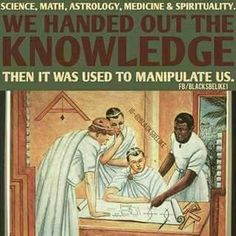 Humanity as we know it started with the so called black man. #melanin