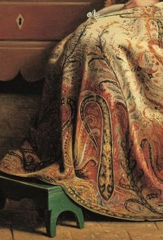 Detail from In a pine wood. Study, Christen Dalsgaard, 1863