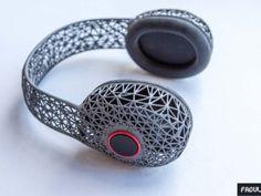 Impression 3D (Lyon, Paris) - Casque design 100% impression 3D signé Carlin x Fabulous