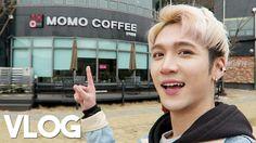 Visiting Wonho's Mom's Cafe || Vlog- Edward Avila
