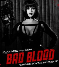 "I got Arsyn! Which ""Bad Blood"" Music Video Supervillain Are You? You're the deadly leader Arsyn — aka the talented badass Selena Gomez."