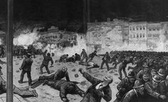 Haymarket riot: The Haymarket affair was the aftermath of a bombing that took place at a labor demonstration on Tuesday May 4, 1886, at Haymarket Square in Chicago. It began as a peaceful rally in support of workers striking for an eight-hour day and in reaction to the killing of several workers the previous day by the police.