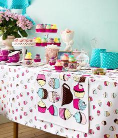 Chá de cupcakes
