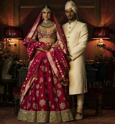 Sabyasachi bridal wear