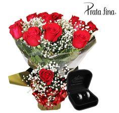 Tem NOVIDADE no ar. \o/ Agora os clientes da Esalflores podem adquirir mimos da Prata Fina junto com as flores.  Na loja física ou no site: http://pol.vu/esalflores