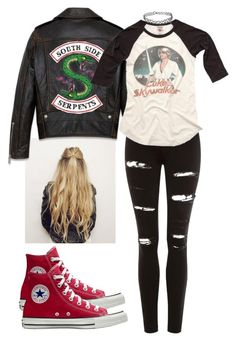 """""""[ Southside Serpent ]"""" by demiwitch-of-mischief ❤ liked on Polyvore featuring Topshop"""