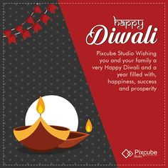 #Pixcubestudio Wishing you and your family a very Happy Diwali and a year filled with, happiness, success and prosperity