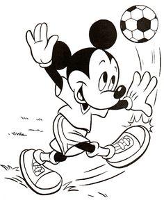 Disney Målarbilder för barn. Teckningar online till skriv ut. Nº 164