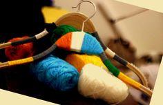 Hand made hangers