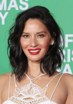 Olivia Munn Cut Off An Entire Foot Of Hair For Her Tousled Bob