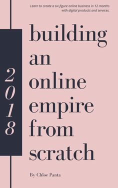Building an Online Empire from Scratch New Business Ideas, Online Business, Building An Empire, Skill Training, O 8, New Opportunities, Business Entrepreneur, Growing Your Business, Learning