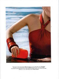 "AIR FRANCE MADAME - Azzaro Swimsuit ""HENNIA"" Resort SS 10"