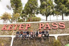 in ketep pass, magelang jawa tengah, Indonesia