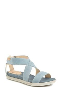ECCO 'Damara' Leather Sandal (Women) available at #Nordstrom