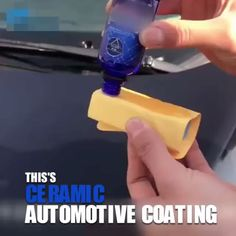 Ultra Ceramic Car Coating - Has your car or truck been looking a little dull or faded lately? With winter here, it's time to - : Ultra Ceramic Car Coating - Has your car or truck been looking a little dull or faded lately? With winter here, it's time to - Threading Machine, Car Cleaning Hacks, Car Gadgets, Car Accessories, Wrangler Accessories, Inventions, Dream Garage, Cool Things To Buy, Trucks