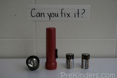 Can You Fix It?   Take apart simple items and have students put them back together by trial and error