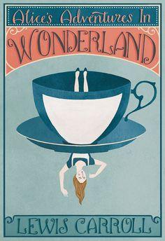 Lewis Carroll, Book Cover Art, Book Cover Design, Book Art, Alice In Wonderland Book, Adventures In Wonderland, Alice Book, Wonderland Party, Buch Design