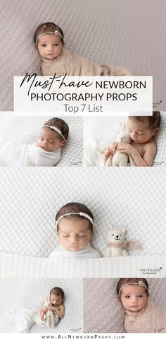 Are you wondering what props for newborn photography do you need? In this article, we share the list of essential newborn photography props. Newborn Photography Studio, Baby Girl Photography, Photography Props, Newborn Photographer, Newborn Posing Guide, Photo Props, Photo Shoot, Newborn Photo Outfits, How To Pose