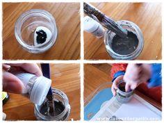 Bricolage en rouleaux de papier toilette #5 : un calendrier de l'avent |La cour des petits Vacuums, Glitter Paint, Wraps, Bricolage Noel, Yard, Toilets, Vacuum Cleaners