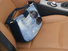 Shopping with my Mykonos bag, by My Jeans Bag #jeansbags #lifestyle #boho