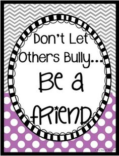 Browse over 570 educational resources created by The Teacher Next Door in the official Teachers Pay Teachers store. Stop Bullying, Anti Bullying, Counselor Bulletin Boards, Bullying Posters, Bullying Prevention, School Counselor, Teaching Tools, Teacher Pay Teachers, Kids Learning