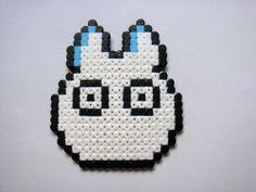 Chibi Totoro - My Neighbour Totoro Perler beads by TangerineCreations