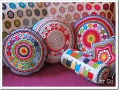 Ravelry: just-do's Couleur Locale Crochet Diy, Mandala Au Crochet, Beau Crochet, Crochet Motifs, Crochet Home Decor, Love Crochet, Crochet Gifts, Beautiful Crochet, Crochet Stitches