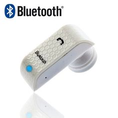 Brand New Bluetooth Headset Handsfree Wireless Earphone for All Unlocked Cell Phones White