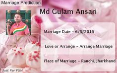Check my results of When Will You Marry? Facebook Fun App by clicking Visit Site button