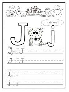 tracing letters a z worksheets j tracing letters worksheet printable letter j tracing. Black Bedroom Furniture Sets. Home Design Ideas