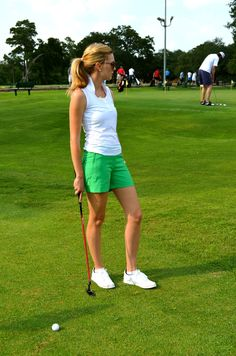 Women's Clothing With Cute Golf Applique Women Golf Fashion C Style