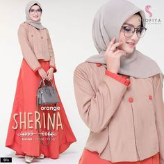 Sherina dress Only Reseller get disc 5 k Bahan mosscrepe Ld 100 Fit L+ Or. Muslim Fashion, Hijab Fashion, Fashion Dresses, Casual Hijab Outfit, Batik Dress, Beautiful Hijab, Mode Hijab, Dress Outfits, Sweater