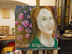 Painter Michael Shigol A visit to the artist Czech Republic, Prague, Artist, Painting, Painting Art, Paintings, Amen, Artists