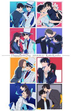 Detective, Conan Comics, Kaito Kuroba, Gosho Aoyama, Kaito Kid, Kudo Shinichi, Happy Tree Friends, Magic Kaito, Case Closed