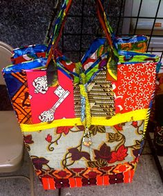 African Prints in Fashion: Bag Encouter