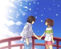 Spirited Away Haku & Chihiro