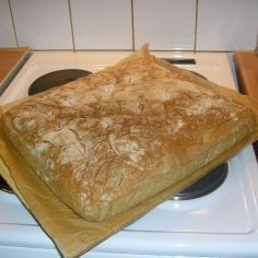 Helppo peltileipä - Kotikokki.net - reseptit No Salt Recipes, Gourmet Recipes, Baking Recipes, Vegetarian Recipes, Savory Pastry, Savoury Baking, Bread Baking, Good Food, Yummy Food