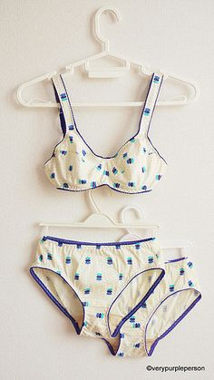 I've noticed people making their own undergarments. It would be so cool to know how to do that.