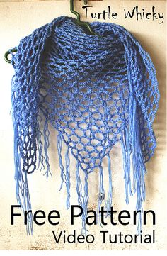 Crochet Triangle Scarf Free Pattern   Spring Crochet/Turtle Whicky Crochet   Home