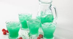 Leprechaun Lemonade.  Well for my Irish family, there will need to be some sort of booze added to this recipe:)