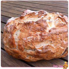 Pan rústico rápido | Sucre Art Pan Bread, Yeast Bread, Pan Rapido, Mexican Bread, Salty Foods, Types Of Bread, Artisan Bread, I Foods, Baking Recipes