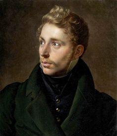 """srednod: """"Portrait of Jacques-Joseph de Cathelineau Anne-Louis Girodet de Roucy-Trioson c. 1822 """""""