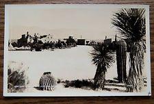 TUCSON AZ - DESERT SANATORIUM - OLD REAL PHOTO POSTCARD